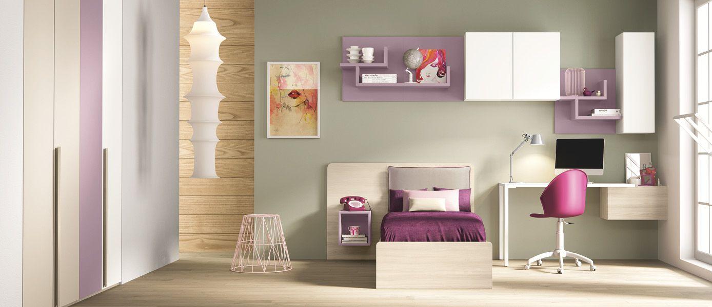 Cameretta consigli su materiali colori e disposizione - Disposizione mobili cameretta ...